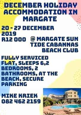 Margate December holiday accommodation