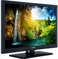 "TV monitor led 22"" tuner satelitarny dvb-s dvb-s2 FHD Full HD 1920 cam"