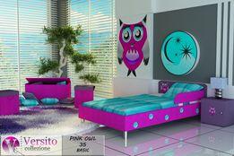 Łóżko dziecięce,łóżko dla dziecka A,łóżko tapicerowane tkaniną