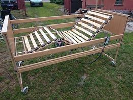 Ładne łóżko rehabilitacyjne na pilota Burmeier - Elektryczne + transpo