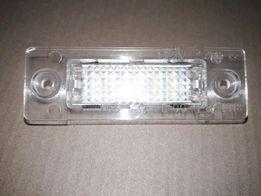 LED Подсветка номера-2шт VW PassatB5 B6 Superb Caddy Transporter T5