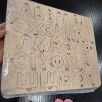 Абетка дерев'яна азбука