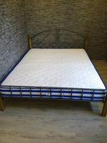 Кровать двухспальная 160 * 200, двохспальне ліжко, двоспальне ліжко.