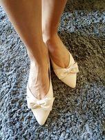Noevision baleriny półbuty skóra naturalna r.41 j.Nowe