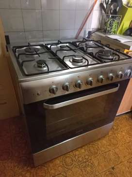 6 Plate Gas Stove and Electric Oven