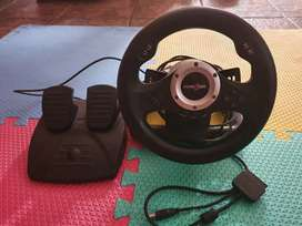 Racing Wheel with Pedals