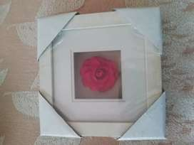 Rose picture frame priced as each