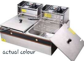Business package - Electric fryer with chip cutter