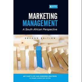 Marketing Management a south african perspective second edition