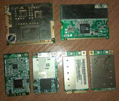 mini PCI и mini PCI-e ТВ тюнеры и WiFi карты