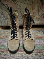Замшевые ботинки сапоги LORD SILGA на подростка 34-35 22,5см