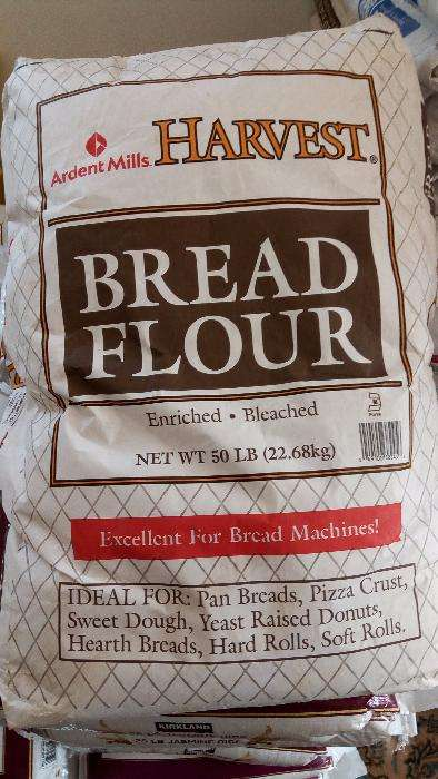 Image of flour for bakers