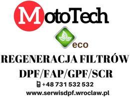 Regeneracja DPF GPF GWARANCJA bez limitu kilometrów CERTYFIKAT 499zł