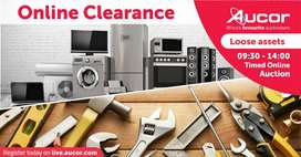 Timed online clearance auction - 19 November