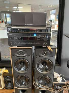 Yamaha RX-V440RDS and 5 Warfedale speakers