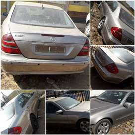 MERCEDES BENZ E320 W211 CDI  3.2 LITTER. STRIPPING FOR SPARE.