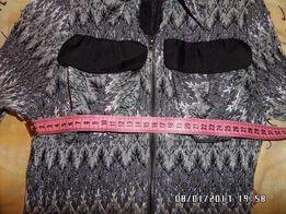 Платье - Туника серебро размер 38-40