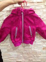 куртка H&M на девочку 12-18 мес