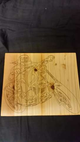 Laser engraved boards  for fathers day