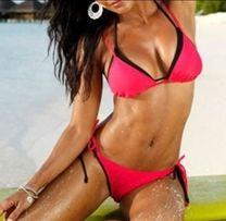 Bikini,strój kąpielowy r.M różowy