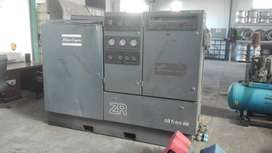 Atlas Copco ZR3B oil free compressor 1988