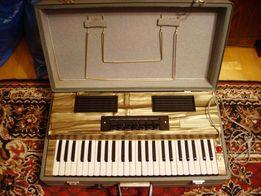 Harmonia elektryczna walizkowa organy, fisharmonia