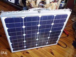 Походная солнечная батарея, панель 100Вт + контр.заряда + 6аккум.