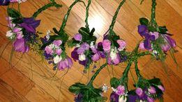 Продам бутоньерки из искусственных цветов