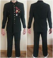 Galowy mundur górniczy + odznaczenia
