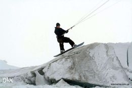 Кайт инструктор. Тренер. Киев UKR kite instructor kitesurfing snowkite