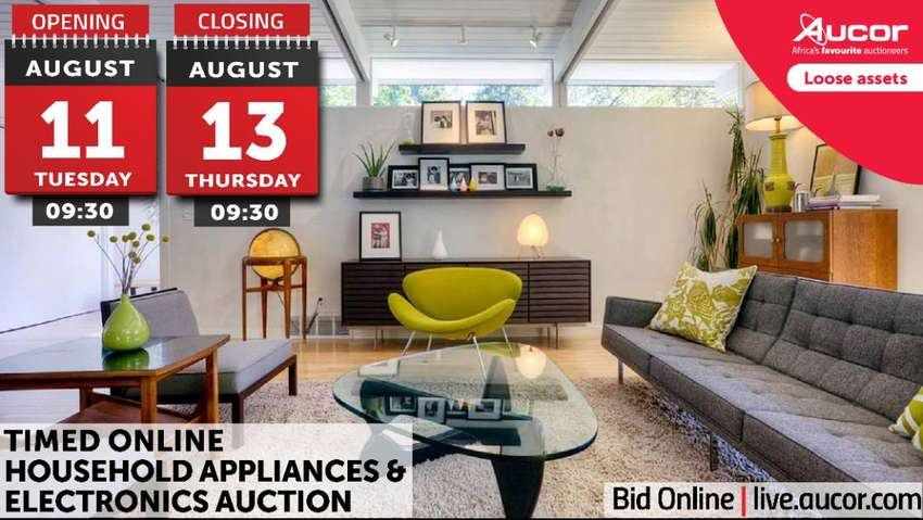 Timed Online Household Appliances & Electronics Auction 0