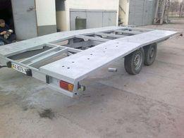Двухосный прицеп для перевозки автомобилей на эвакуаторе или автовозе