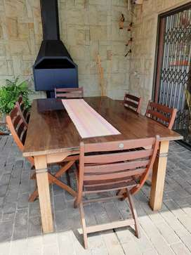 Lapa Table XL , 6 chairs