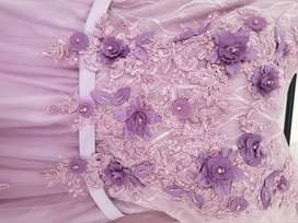 Lavender evening gown for sale