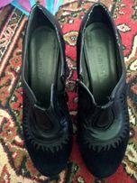 Продам кожаные туфли-сапог весна