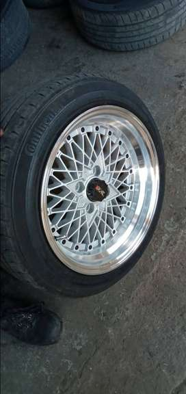 """15"""" Mags 8j  4×100"""
