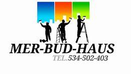 Usługi remontowo-budowlane, wykańczanie wnętrz