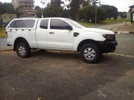 2016 Ford Ranger, servicebook, double cab with canopy, 95,000km,diesel