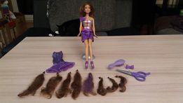 Barbie z przedluźanymi wlosami