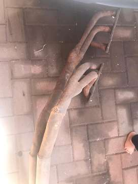 Complete E30 banana exhaust branches