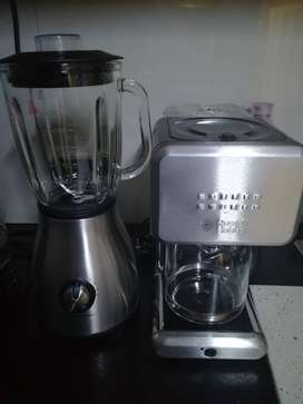 Russell Hobbs blender and coffee maker