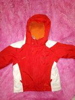 куртка зимняя лыжная на девочку 4-5 лет