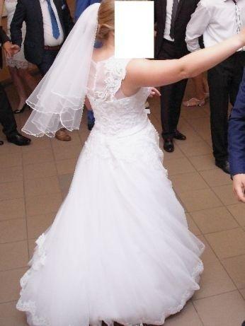 Sprzedam suknie ślubną Lena Białystok - image 6