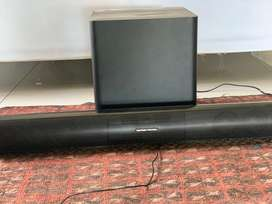 Harman Kardon sound bar and subwoofer