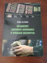 Książka Mechanizmy Corporate Governance w spółkach gieldowych