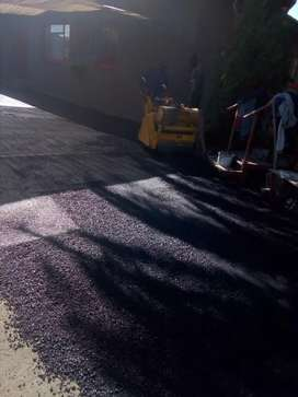 Tar surfaces and paving contractors