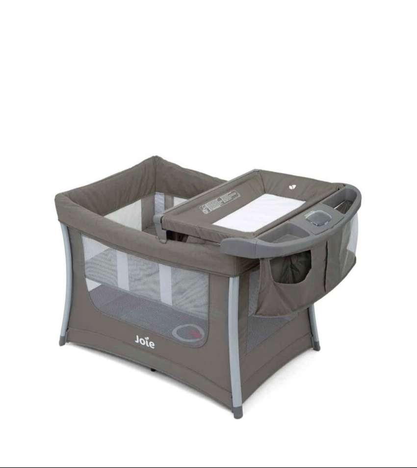 Joie Illusion Camp Cot-Nikel
