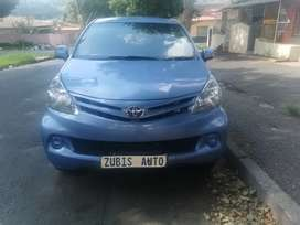 2014 TOYOTA AVANZA WITH AN ENGINE CAPACITY OF 1,5