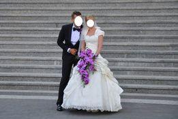 suknia ślubna LATIS KOLOR ECRU