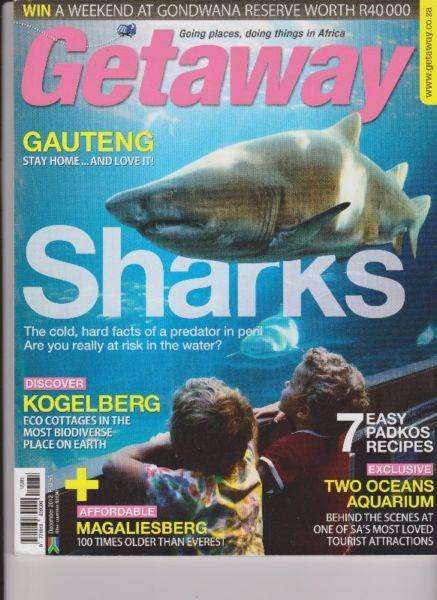 Getaway magazines. (The price is for all)